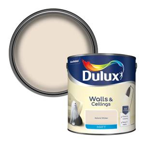 Dulux Natural Wicker - Matt Emulsion Paint - 2.5L
