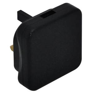 Masterplug USB Charger Black
