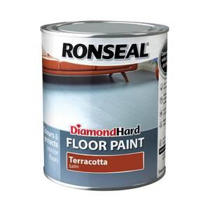 Ronseal Diamond Hard Terracotta - Floor Paint - 750ml