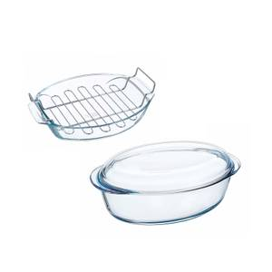 Pyrex Roaster with Rack & Casserole Dish Set