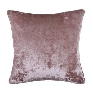 Crushed Velvet Cushion - Blush - 58x58cm