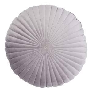 Round Velvet Cushion - Grey - 45cm