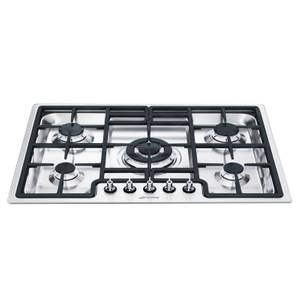 Smeg PGF75-4 Ultra low Profile Gas Hob - Stainless Steel
