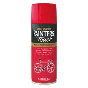 Rust-Oleum Gloss Spray Paint - Cherry Red - 400ml