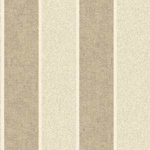 Belgravia Decor San Remo Stripe Textured Vinyl Glitter Natural Wallpaper