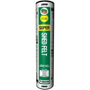 IKO Waterproofing Super Shed Felt - 8 x 1m