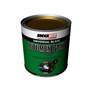 IKOpro Black - Bitumen Paint - 1L