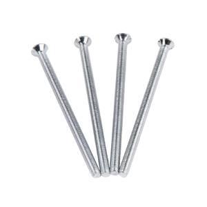Electrical Screws 3.5 x 60mm Nickel 4 Pack