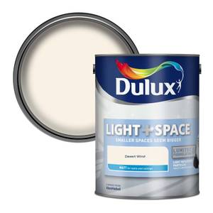 Dulux Light & Space Desert Wind - Matt Emulsion Paint - 5L