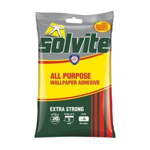 Solvite All Purpose Wallpaper Adhesive - 5 Rolls