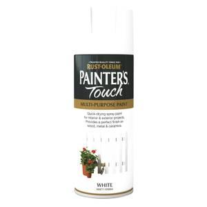 Rust-Oleum Matt Spray Paint - White - 400ml