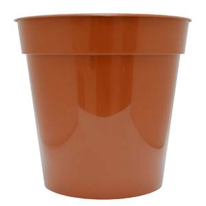 Flower Pot in Orange - 25cm