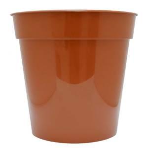 Flower Pot in Orange - 25cm