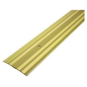 Extra Wide Cover Strip Carpet Edge - Gold 1800mm