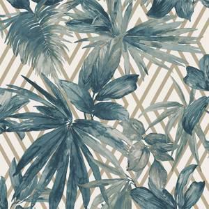 Grandeco Forage Teal Wallpaper