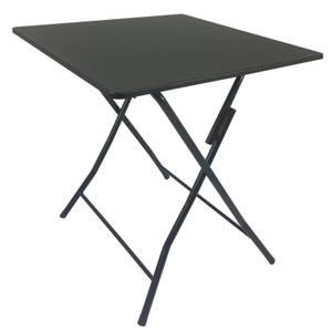 Folding Metal Table Black