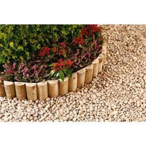 Half Round Log Softwood Edging & Border Roll - 15 x 180cm