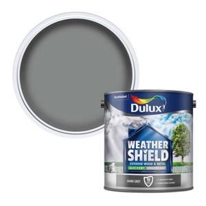 Dulux Weathershield Exterior Quick Dry Undercoat - Dark Grey - 2.5L
