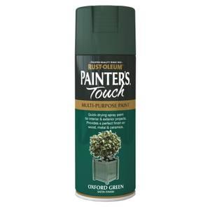 Rust-Oleum Satin Spray Paint - Oxford Green - 400ml
