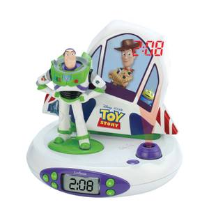 Disney Toy Story Projector Clock with Sounds