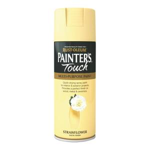 Rust-Oleum Satin Spray Paint - Strawflower - 400ml