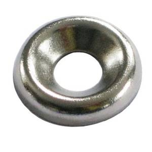 Screw Cup Washer - Nickel Plated - 4mm - 20 Pack