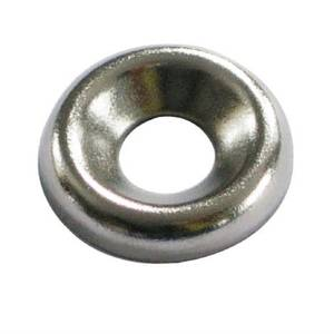 Screw Cup Washer - Nickel Plated - 5mm - 20 Pack