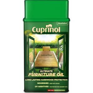 Cuprinol Ultimate Hardwood Furniture Oil Clear - 1L