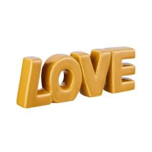 Ceramic Love Ornament - Ochre