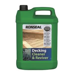 Ronseal Decking Cleaner & Reviver- 5L