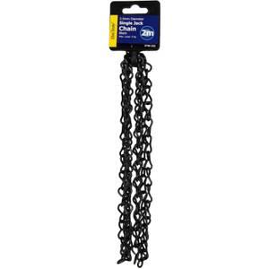 Jack Chain - Black - 2.5 x 2000mm
