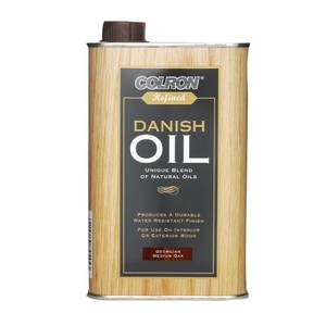 Colron Refined Danish Oil Georgian Medium Oak - 500ml
