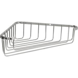 Croydex Bathroom Tidy Wire Corner Basket - Chrome