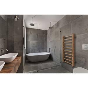 Square Tubed Towel Rail - 500 x 800mm - Copper