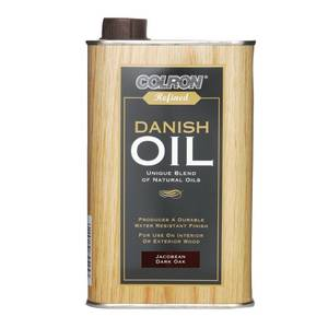 Colron Refined Danish Oil Jacobean Dark Oak - 500ml