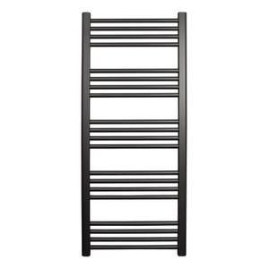 Straight Ladder Towel Rail - 500 x 1200mm - Anthracite