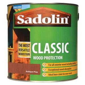 Sadolin Classic Woodstain - Antique Pine - 2.5L