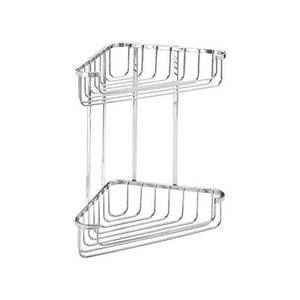 Croydex 2 Tier Corner Basket - Large