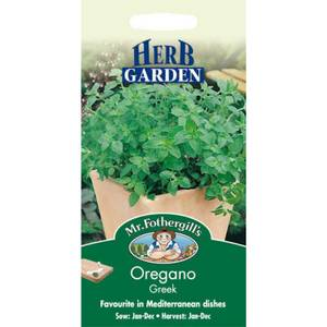 Greek Oregano (Origanum Vulgare) Seeds