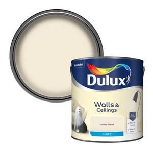 Dulux Orchid White - Matt Emulsion Paint - 2.5L