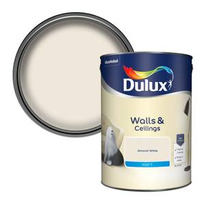 Dulux Almond White - Matt Emulsion Paint - 5L