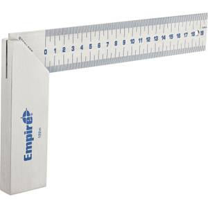 Empire 122M Try Square 200mm (Stainless)