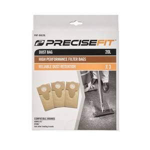 PreciseFit 20L 3 Pack Dust Bags PWF-BAG20L