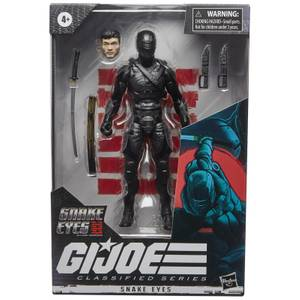 Figurine de Collection Snake Eyes G.I. Joe Classified Series - Hasbro