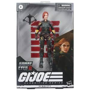Hasbro G.I. Joe Classified Series Snake Eyes: G.I. Joe Origins Scarlett Action Figure