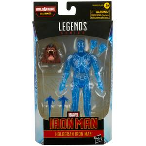 Figurine Iron Man Hologramme Hasbro Marvel Legends Series