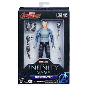 Hasbro Marvel Legends Avengers Series 6-inch Quicksilver