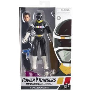 Hasbro Power Rangers Lightning Collection In Space Black Ranger Ranger Figur