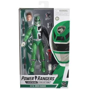Hasbro Power Rangers Lightning Collection S.P.D. Green Ranger Figure