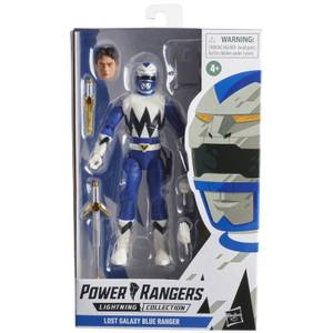 Hasbro Power Rangers Lightning Collection Lost Galaxy Blue Ranger Figure
